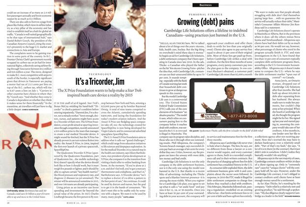 Article Preview: It's a Tricorder, Jim, March 2012 | Maclean's
