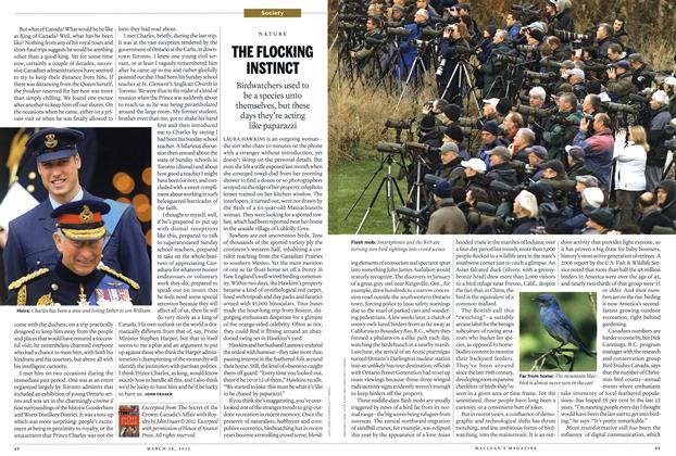 Article Preview: THE FLOCKING INSTINCT, March 2012 | Maclean's