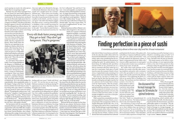 Article Preview: Finding perfection in a piece of sushi, March 2012 | Maclean's