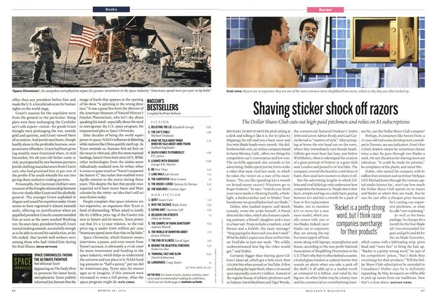 Article Preview: Shaving sticker shock off razors, March 2012 | Maclean's