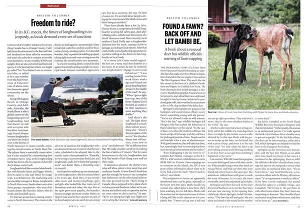 Article Preview: Freedom to ride?, April 2012   Maclean's