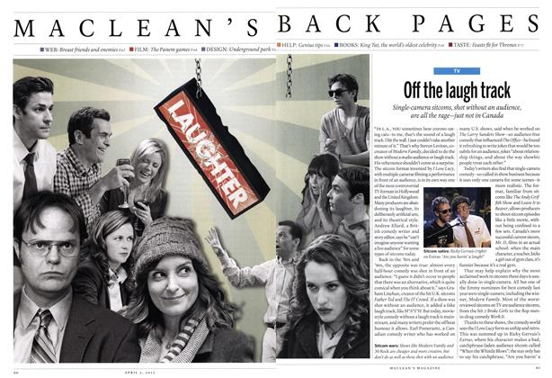 Article Preview: Off the laugh track, April 2012 | Maclean's