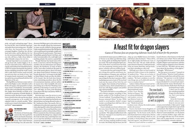 Article Preview: A feast fit for dragon slayers, April 2012 | Maclean's