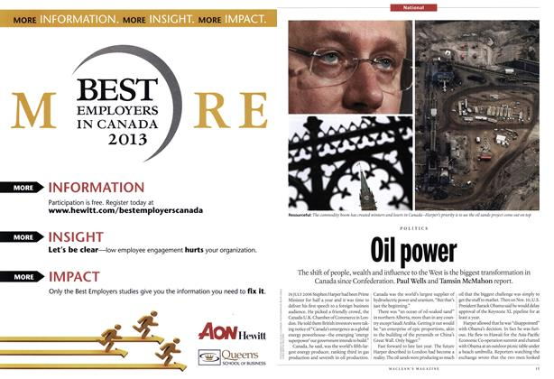 Article Preview: Oil power, April 2012 | Maclean's