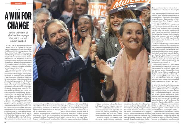 Article Preview: A WIN FOR CHANGE, April 2012 | Maclean's