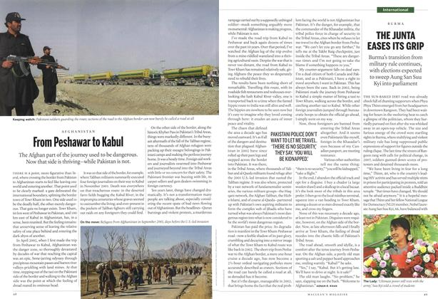 Article Preview: From Peshawar to Kabul, April 2012 | Maclean's