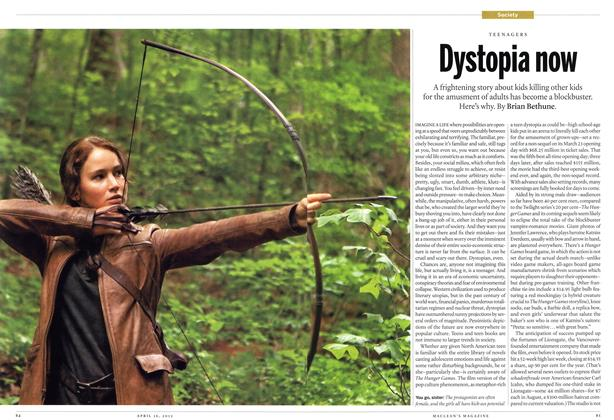 Article Preview: Dystopia now, April 2012 | Maclean's