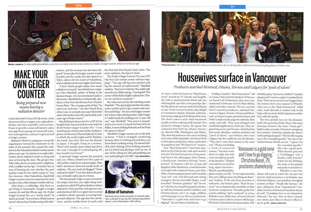 Article Preview: Housewives surface in Vancouver, April 2012 | Maclean's
