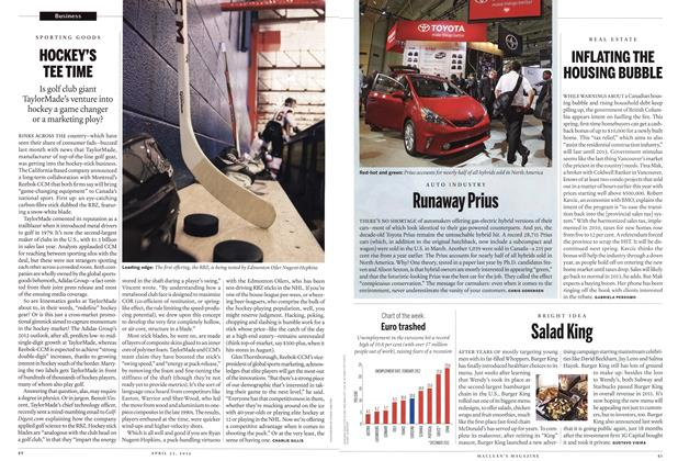 Article Preview: Runaway Prius, April 2012 | Maclean's
