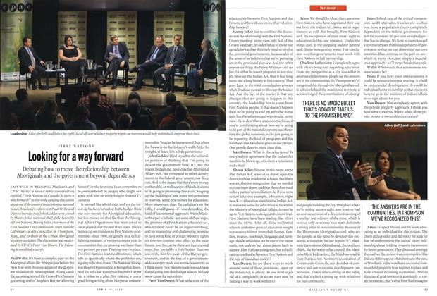 Article Preview: Looking for a way forward, April 2012 | Maclean's