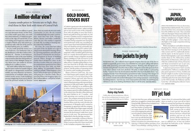 Article Preview: Rainy-day funds, April 2012 | Maclean's
