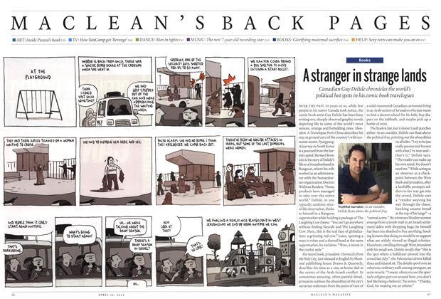 Article Preview: A stranger in strange lands, April 2012 | Maclean's
