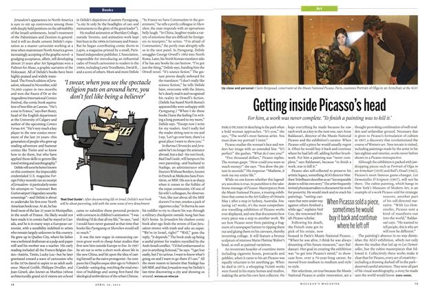 Article Preview: Getting inside Picasso's head, April 2012 | Maclean's