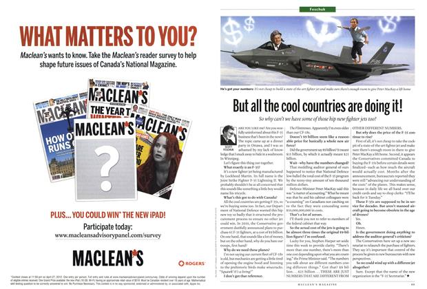 Article Preview: But all the cool countries are doing it!, April 2012 | Maclean's