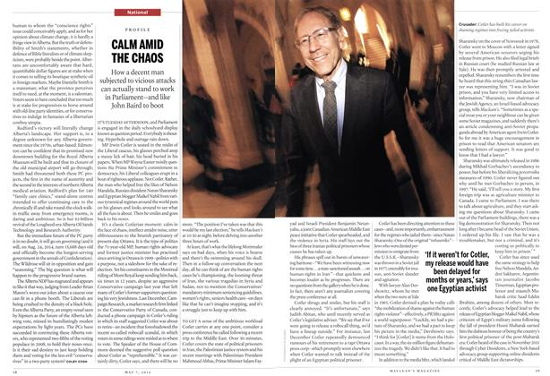 Article Preview: CALM AMID THE CHAOS, May 2012 | Maclean's