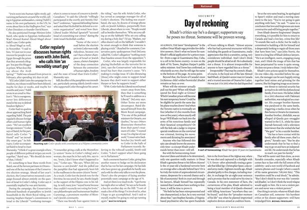 Article Preview: Day of reckoning, May 2012 | Maclean's