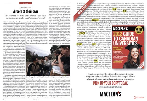 Article Preview: A room of their own, May 2012 | Maclean's
