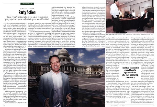 Article Preview: Party fiction, May 2012 | Maclean's