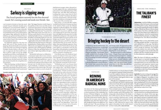 Article Preview: REINING IN AMERICA'S RADICAL NUNS, May 2012 | Maclean's