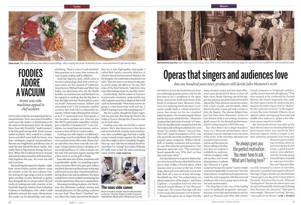 Article Preview: Operas that singers and audiences love, May 2012 | Maclean's