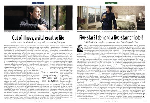 Article Preview: Out of illness, a vital creative life, May 2012 | Maclean's