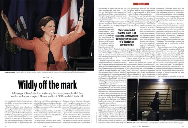 Article Preview: Wildly off the mark, May 2012 | Maclean's