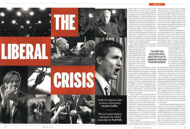 Article Preview: THE LIBERAL CRISIS, MAY 14,2012 2012 | Maclean's