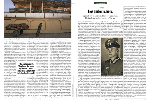 Article Preview: Lies and omissions, MAY 14,2012 2012 | Maclean's