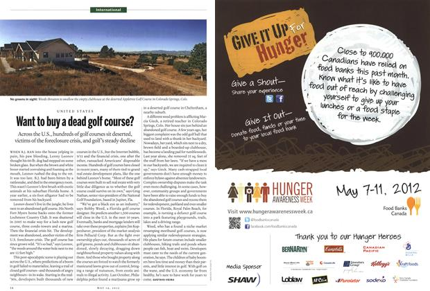 Article Preview: Want to buy a dead golf course?, MAY 14,2012 2012 | Maclean's