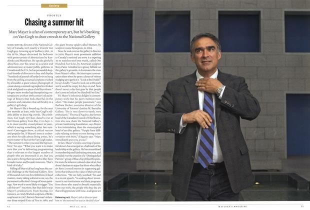 Article Preview: Chasing a summer hit, MAY 14,2012 2012 | Maclean's