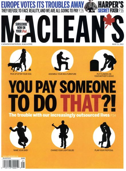 Issue: - MAY 21,2012 | Maclean's