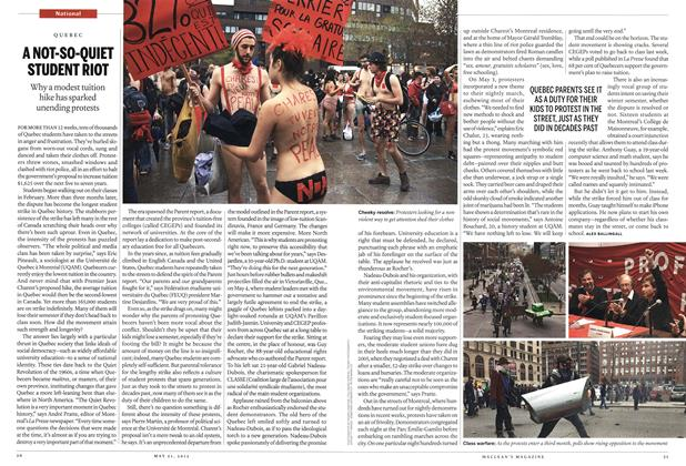 Article Preview: A NOT-SO-QUIET STUDENT RIOT, MAY 21,2012 2012 | Maclean's
