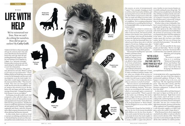 Article Preview: LIFE WITH HELP, MAY 21,2012 2012 | Maclean's