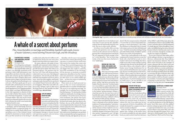 Article Preview: A whale of a secret about perfume, MAY 21,2012 2012 | Maclean's