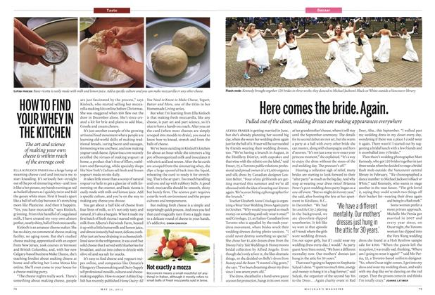 Article Preview: Here comes the bride. Again., MAY 21,2012 2012 | Maclean's