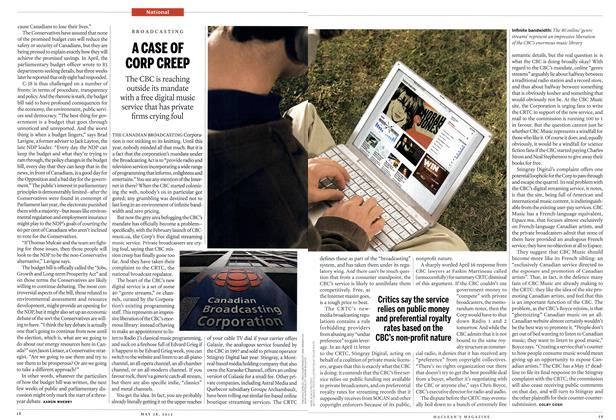 Article Preview: A CASE OF CORP CREEP, May 2012 | Maclean's