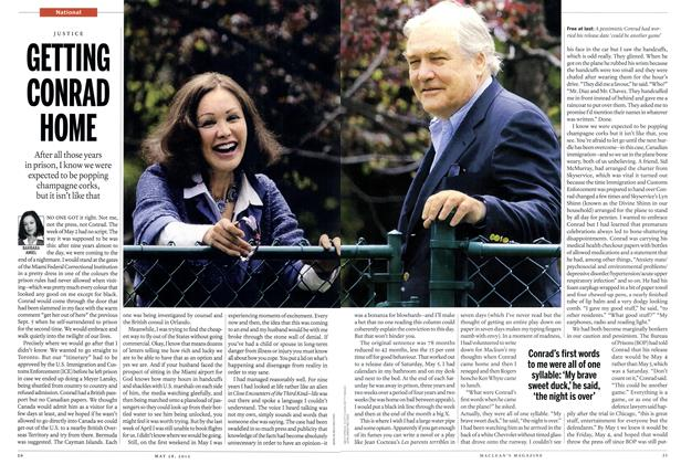 Article Preview: GETTING CONRAD HOME, May 2012 | Maclean's