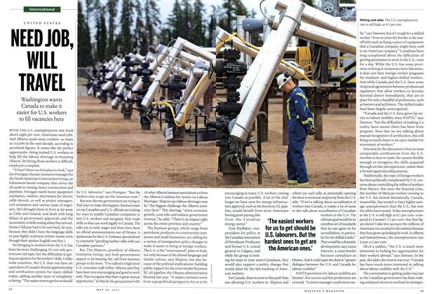 Article Preview: NEED JOB, WILL TRAVEL, May 2012 | Maclean's
