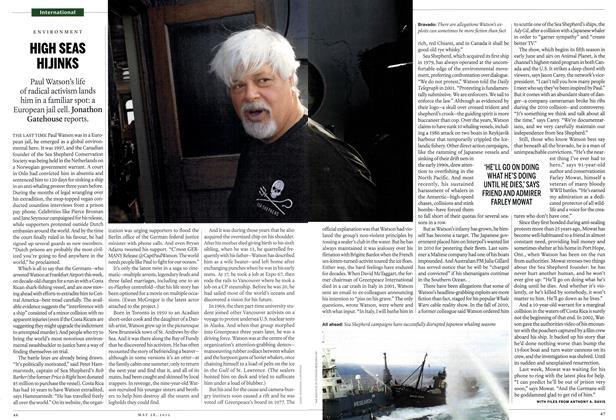 Article Preview: HIGH SEAS HIJINKS, May 2012   Maclean's