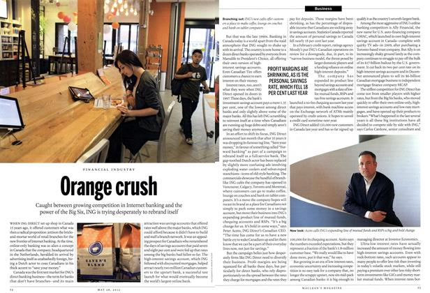 Article Preview: Orange crush, May 2012 | Maclean's