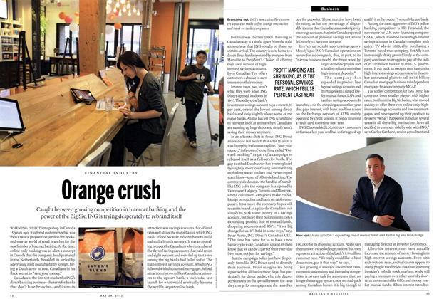 Article Preview: Orange crush, May 2012 | Maclean's