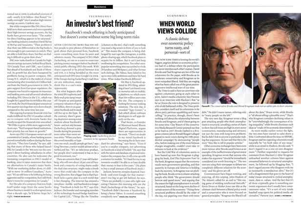 Article Preview: WHEN WORLD VIEWS COLLIDE, May 2012 | Maclean's