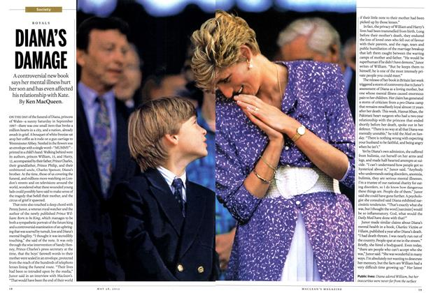 Article Preview: DIANA'S DAMAGE, May 2012 | Maclean's