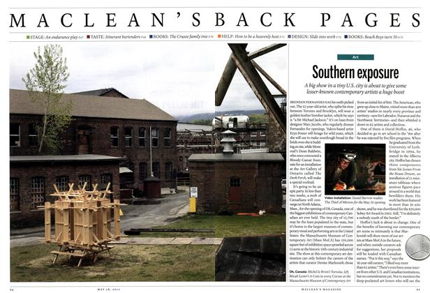 Article Preview: Southern exposure, May 2012 | Maclean's