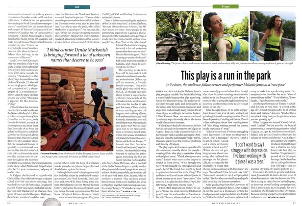 Article Preview: This play is a run in the park, May 2012 | Maclean's