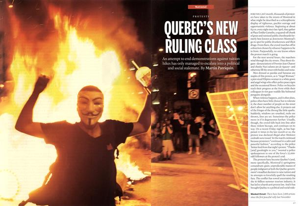 Article Preview: QUEBEC'S NEW RULING CLASS, June 2012 | Maclean's