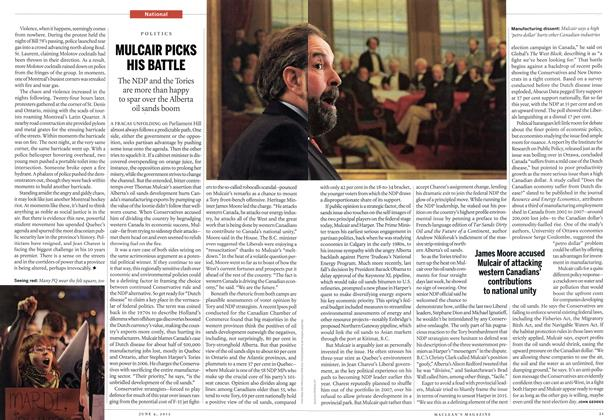 Article Preview: MULCAIR PICKS HIS BATTLE, June 2012 | Maclean's
