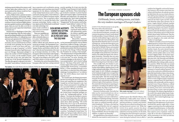 Article Preview: The European spouses club, June 2012 | Maclean's