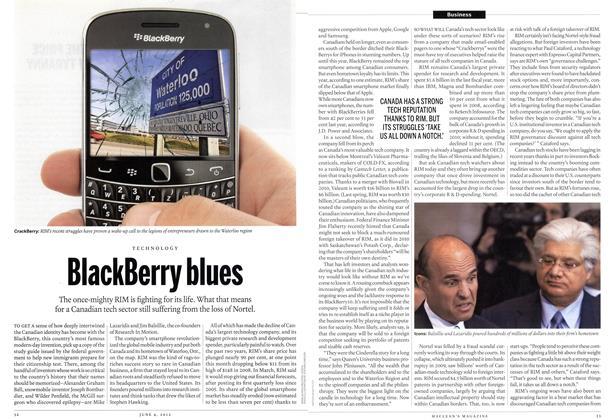 Article Preview: BlackBerry blues, June 2012 | Maclean's