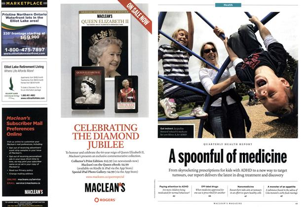 Article Preview: A spoonful of medicine, June 2012 | Maclean's
